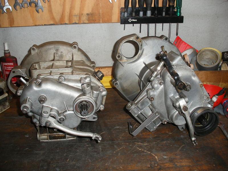 Guzzi close gearbox monteres.