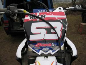 Og den nyeste, Yamaha 450 2010 model. En noget anden racer.