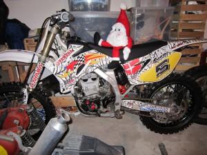 Yamaha 450 motocross