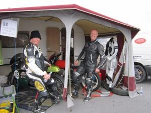 Classic Grand Prix 2013 Jan og Søren sparker dæk